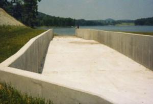 Intake Riser 4 spillway