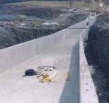 Intake Riser 6 spillway